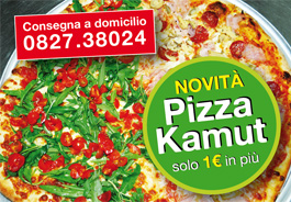 Pizza a domicilio Calitri